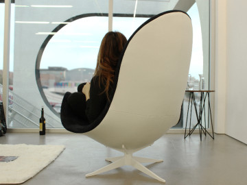 "LEIRA Lounge Chair: The next generation home furniture - a dedicated lounge chair only for ""you"""