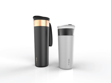 Mini-mL: Patented utility portable mug